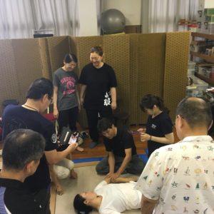 腱引きの2段、3段講習を受けてきました。